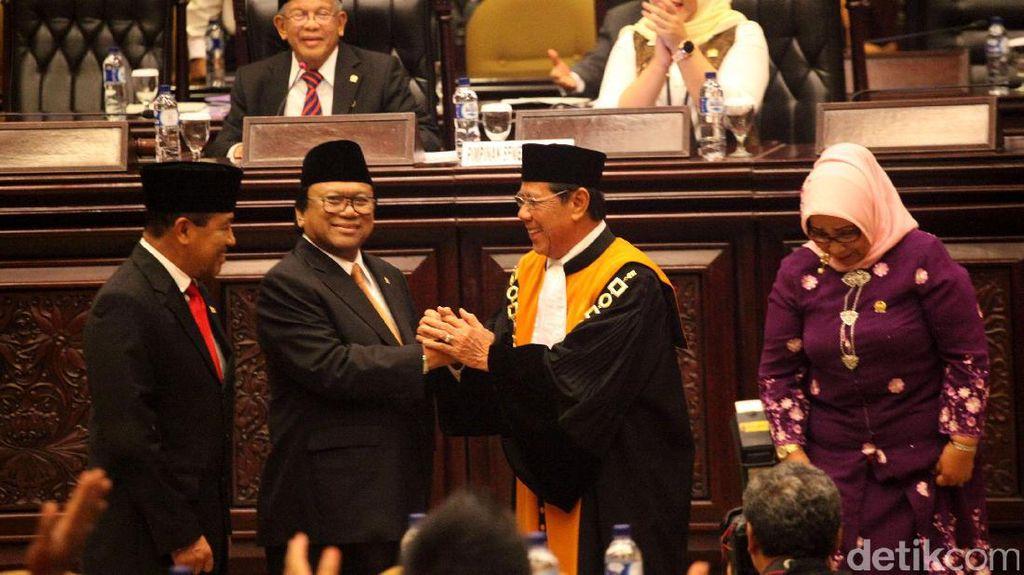 Para Pakar Hukum Tata Negara Nilai Wakil Ketua MA Langgar UU MD3