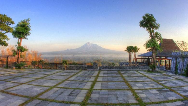 Foto: Panorama cantik dari Abhayagiri Restaurant (dok Istimewa)