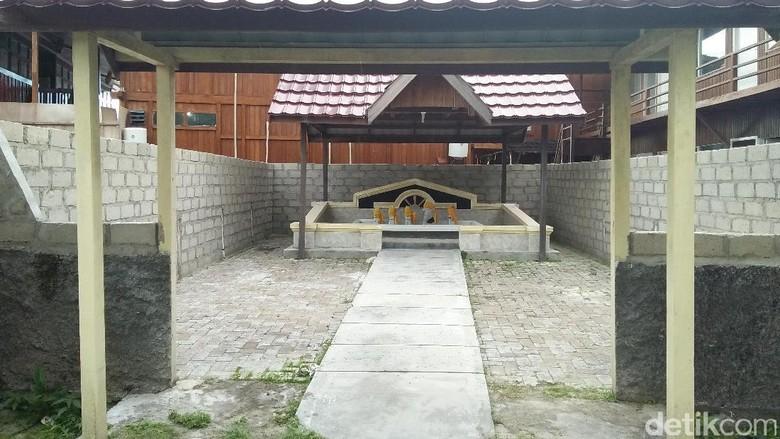 Makam pejuang Sabba Ani di Derawan (Bonauli/detikTravel)
