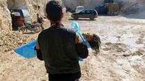 Bantai Anak-anak Suriah, Gas Sarin Lebih Kuat 81 Kali dari Sianida