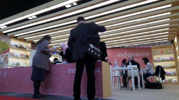 Ini Paviliun Indonesia di Bologna Childrens Book Fair 2017