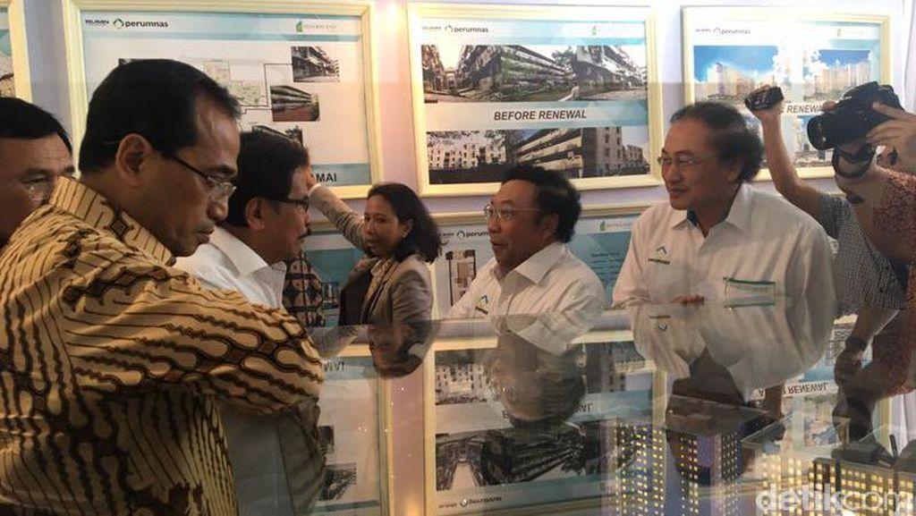 4 Menteri Jokowi Terbang ke Medan, Cek Rusun Tua