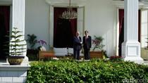 Jokowi Sambut Presiden Afganistan dengan Upacara Kenegaraan