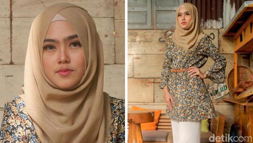 Foto: Manisnya 6 Peserta Sunsilk Hijab Hunt Berbusana Motif Bunga
