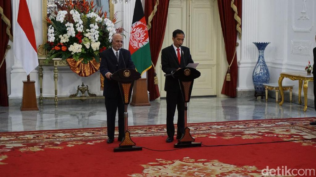 Cerita Jokowi soal Peringatan Presiden Afghanistan untuk Indonesia