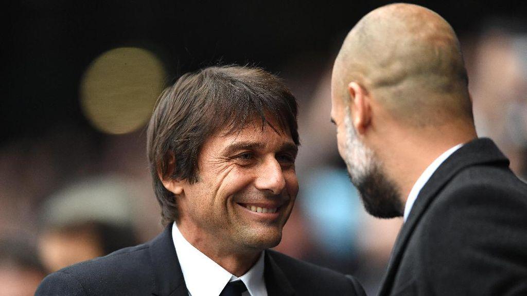 Jelang Chelsea vs City, Conte Dipuji-puji Guardiola