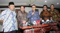 Pimpinan MPR Jumpa Pers Terkait Terpilihnya OSO Jadi Ketua DPD