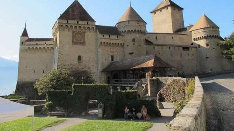 Chateau de Chillon atau Kastil Chillon (Ardhi/detikTravel)