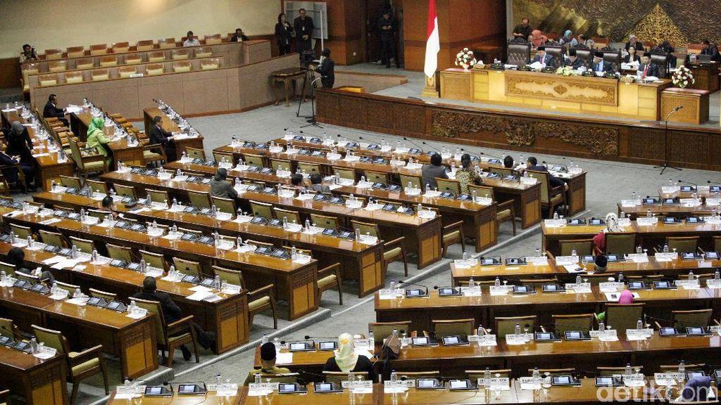 Pansus DPR Usul Tambah Kursi Parlemen Jadi 579