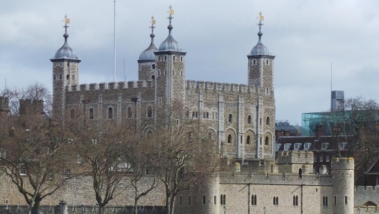 Tower of London (Angga Aliya ZRF/detikTravel)