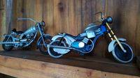 Pemuda Purwakarta Ini Sulap Limbah Jadi Miniatur Motor Klasik