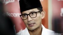 Sandiaga Tiba di Rumah Prabowo, Konsolidasi Jelang Pencoblosan