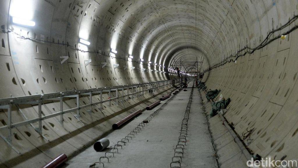 Proyek MRT Jakarta Capai Progres Fisik 69%