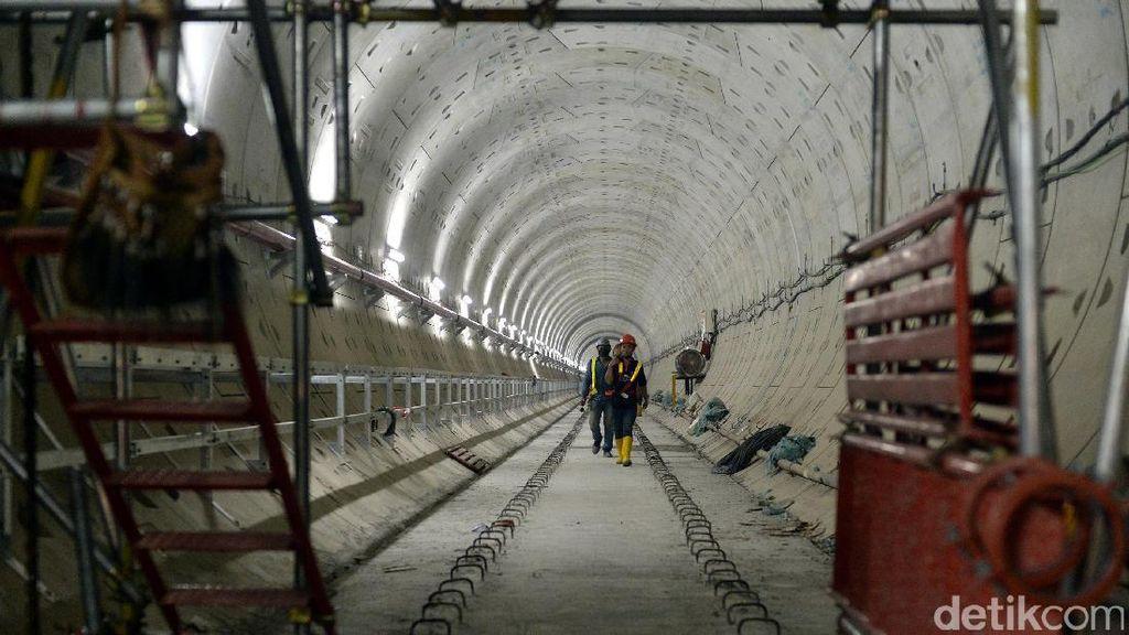 Pembangunan MRT Jakarta Capai 71,39%