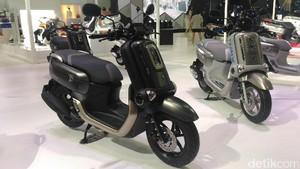 Skuter Futuristik Yamaha