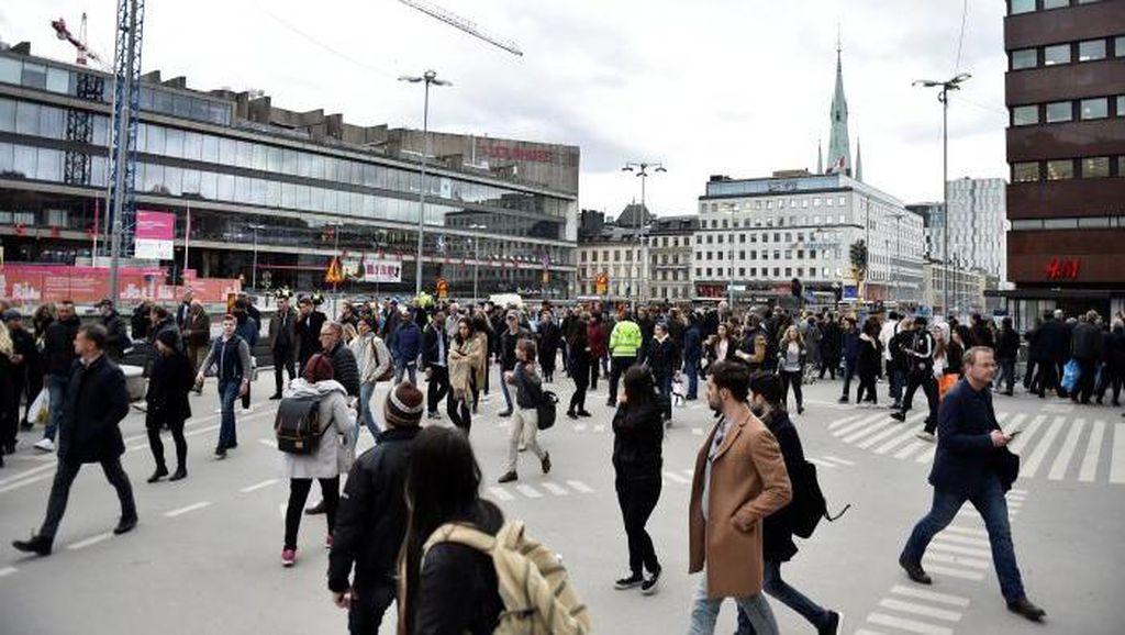 Mengenal Sentra Belanja Stockholm yang Jadi Lokasi Teror Swedia