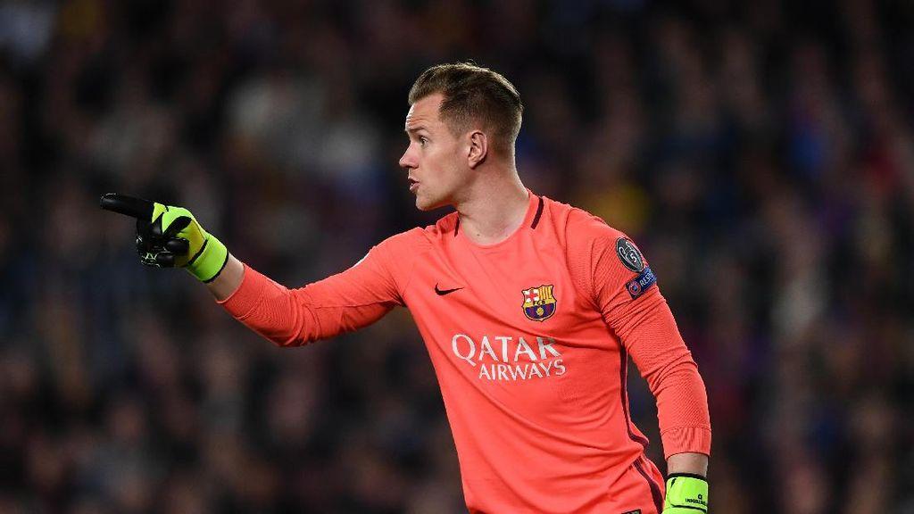 Ter Stegen dan Barcelona Sepakati Kontrak Baru