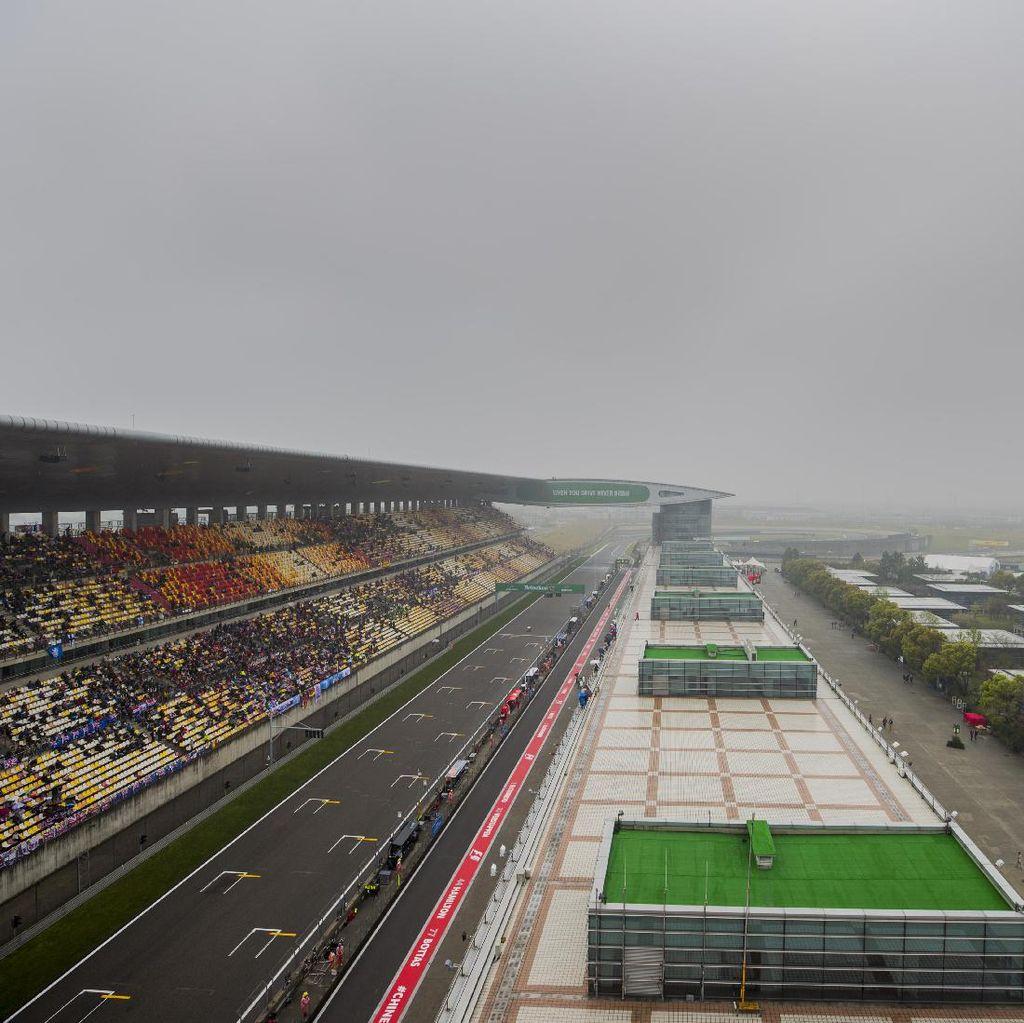 Cuaca Buruk Bikin Latihan Bebas Kedua GP China Dibatalkan
