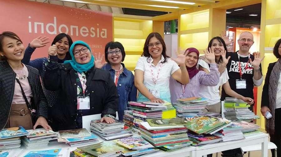 Indonesia Tancapkan Eksistensi di Bologna Childrens Book Fair