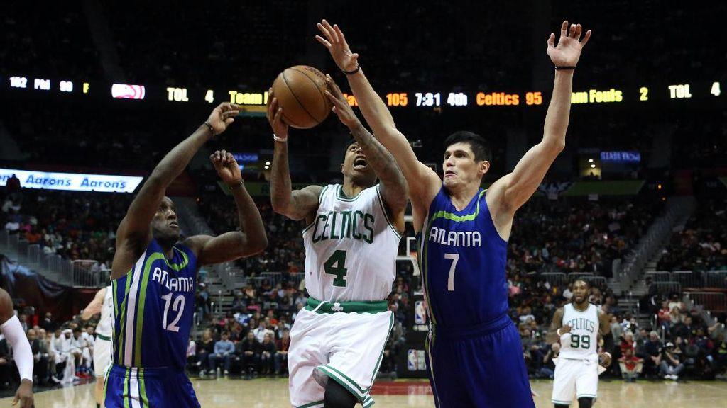 Redam Celtics, Hawks Jaga Peluang ke Playoff