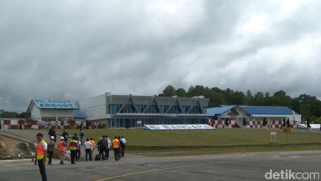 Bandara Silangit Rampung Bulan Depan, ke Danau Toba Cuma Sejam