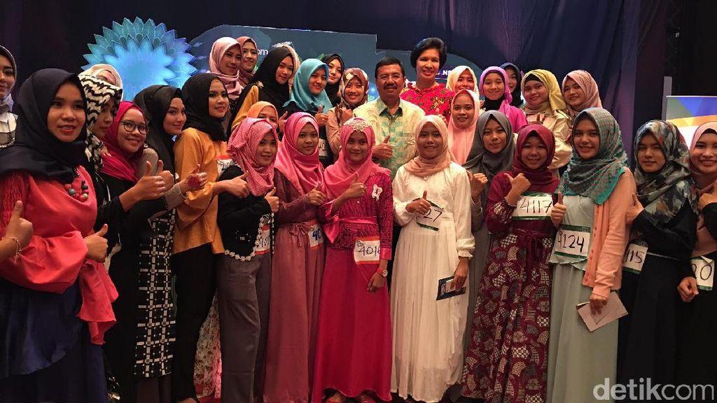 Pesan Gubernur Sumut untuk Hijabers Medan yang Audisi Sunsilk Hijab Hunt