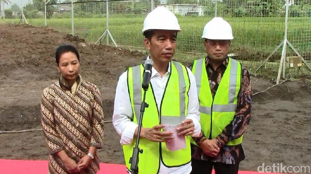 Soal Lahan Kereta Bandara Adi Soemarmo, Jokowi: Jangan Sampai Tak Siap