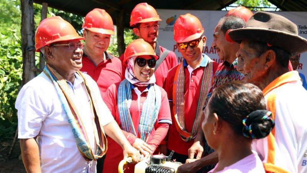 Telkom Bagi-bagi 7.000 Sembako