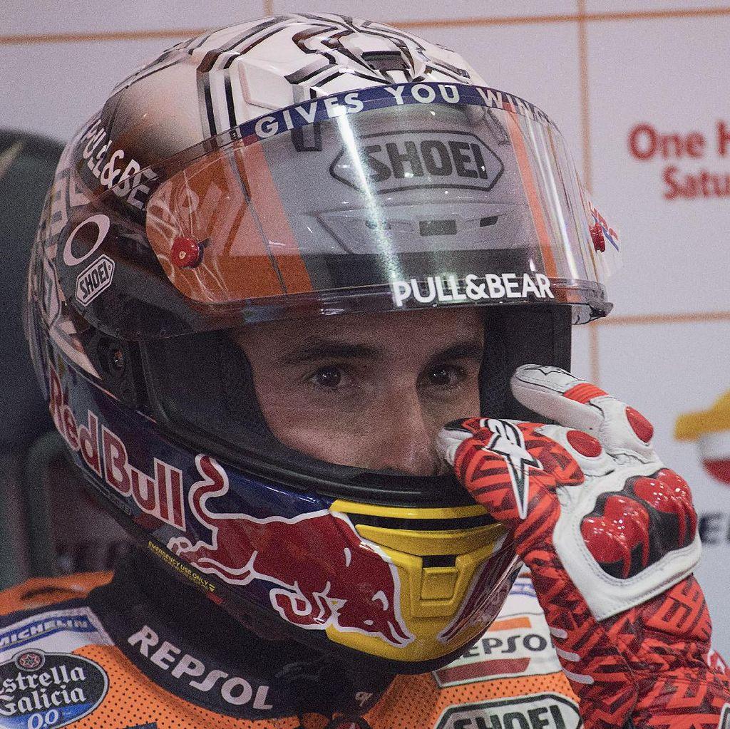 Marquez Puas di Hari Pertama, tapi dengan Catatan
