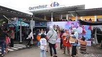 Ribuan Pengunjung Mulai Padati Hangout with All Stars di Carrefour Ciputat