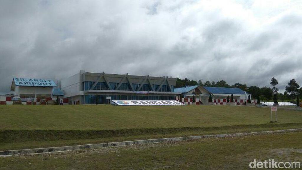 Dukung Pariwisata Danau Toba, Silangit akan Jadi Bandara Internasional