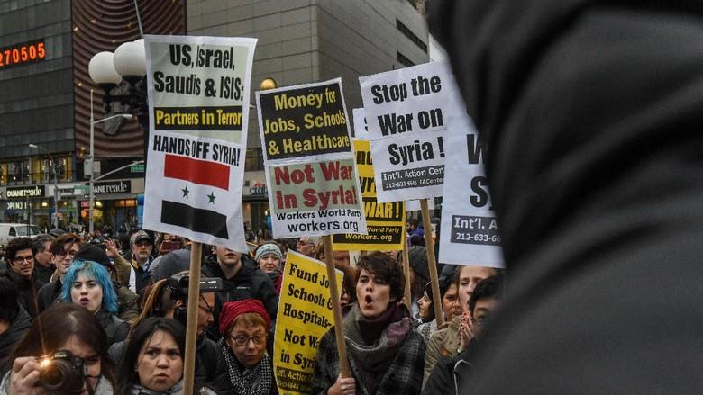 Serangan Amerika ke Suriah, Bermotif Kemanusiaan atau Politik?