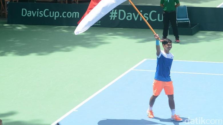 Christopher Rungkat Absen di Piala Davis 2018, Indonesia Punya PR