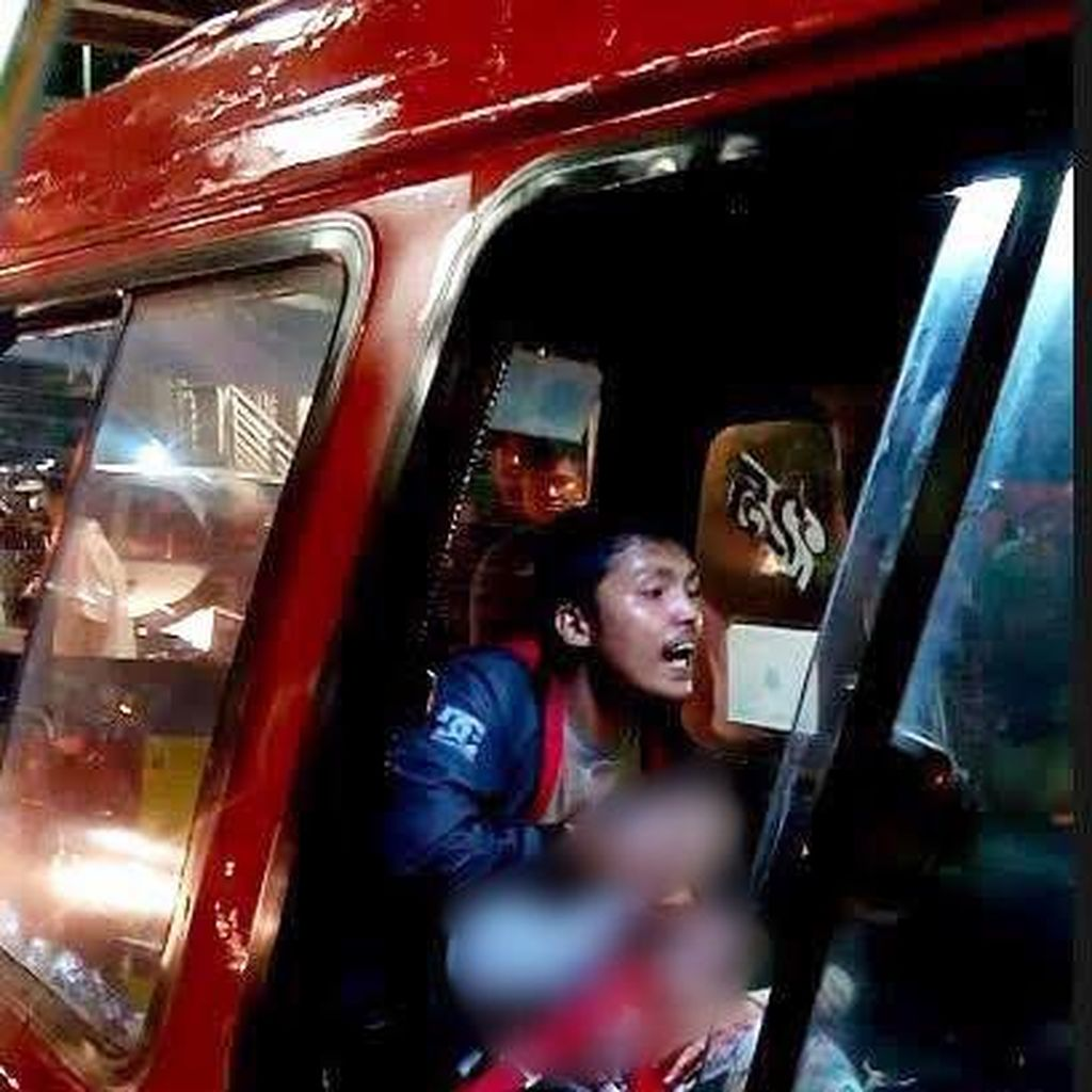 Begini Aksi Aiptu Sunaryanto Selamatkan Korban Penodongan di Angkot