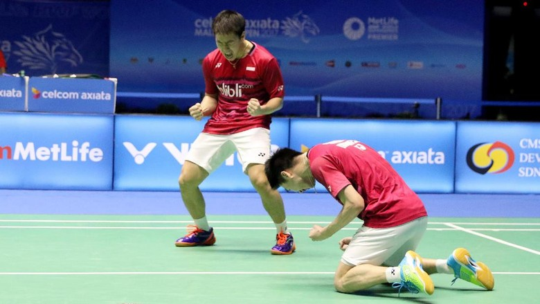 Kevin/Marcus Masih 100% di Final Super Series