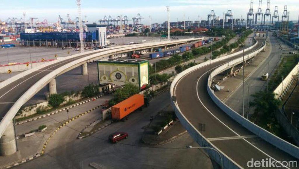 Tol Akses Tanjung Priok Sepanjang 11,4 Km Akhirnya Rampung 100%