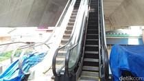 Eskalator Halte Cipulir Ditargetkan Rampung Sebelum Juni