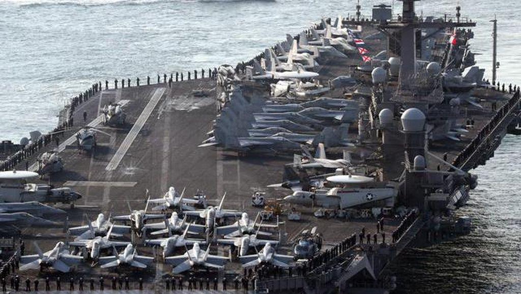 Korea Utara Nyatakan Siap Serang Kapal Induk AS