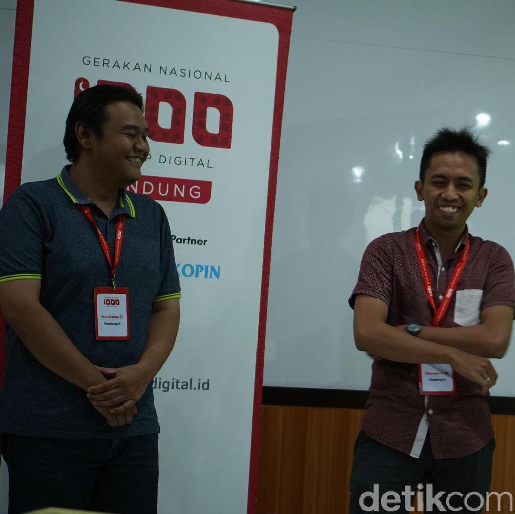 Startup Kandang.in dkk Lolos Seleksi di Bandung