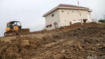 Rumah di Tengah Proyek Tol Pejagan-Pemalang