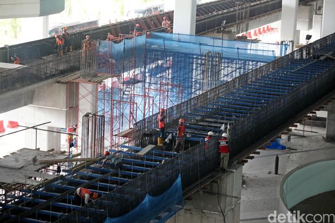 Pembangunan Jalur Skytrain Terminal III Dikebut