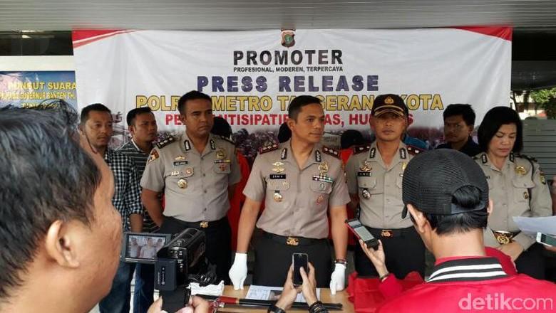 Polisi Tangkap Pelaku Pembacokan saat Tawuran Pemuda di Tangerang