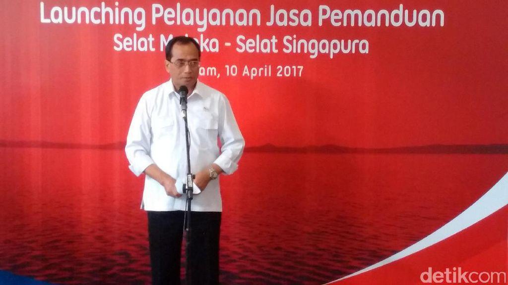 Indonesia Resmi Kelola Jasa Pemanduan Kapal di Selat Malaka