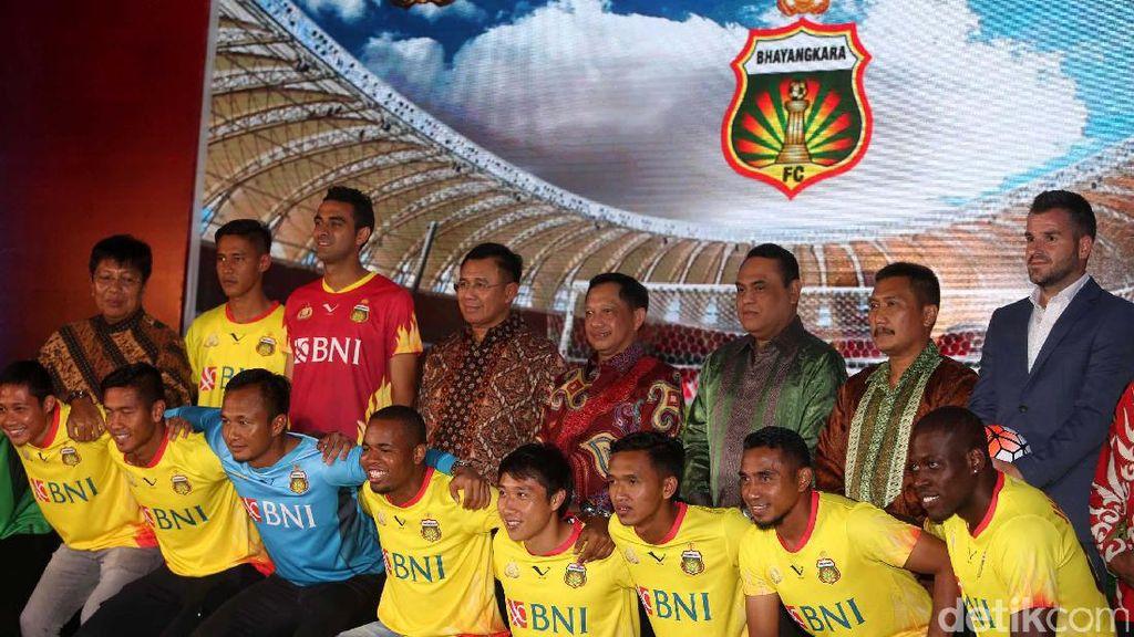 Bhayangkara FC Luncurkan Tim untuk Arungi Liga 1