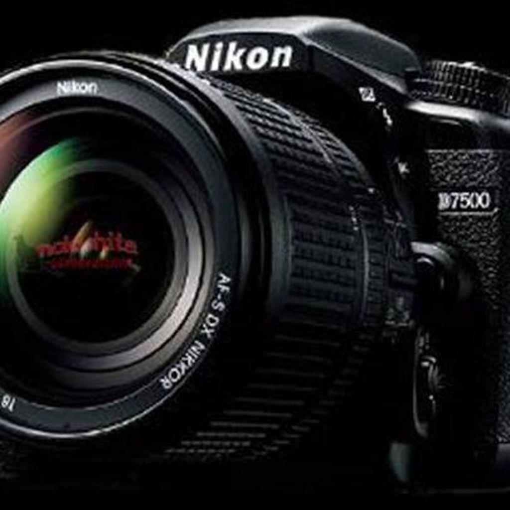Kamera DSLR Nikon D7500 Menampakkan Diri