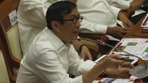 Menkum Yasonna Dicecar Komisi III soal Overcapacity Lapas