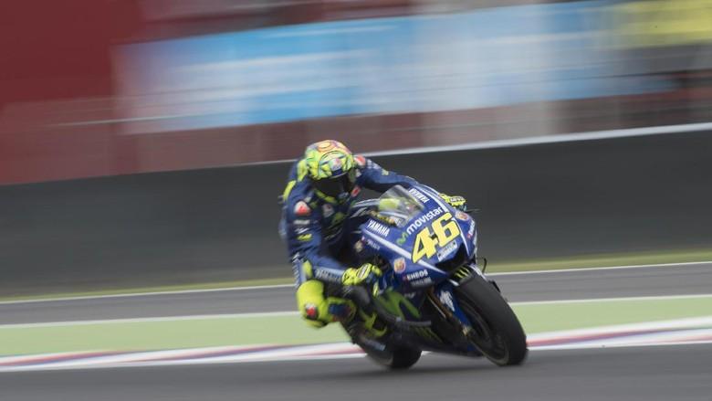 Terkejut dengan Performa Rossi, Bos Honda Beri Ucapan Selamat