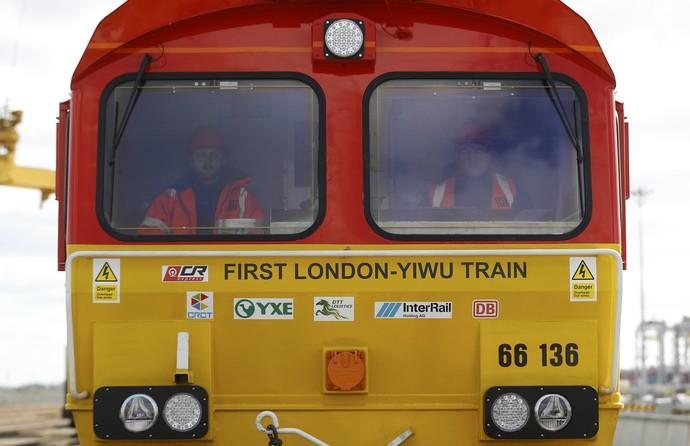Giliran Inggris Ekspor Barang ke China Lewat Jalur Kereta
