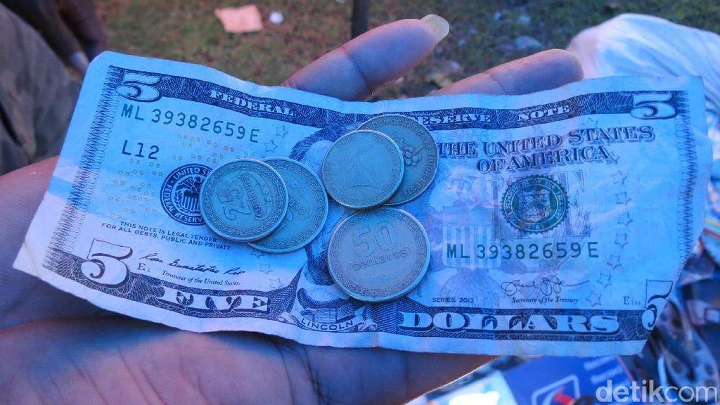 Pasar di Indonesia, Tapi Bayar Pakai Dollar