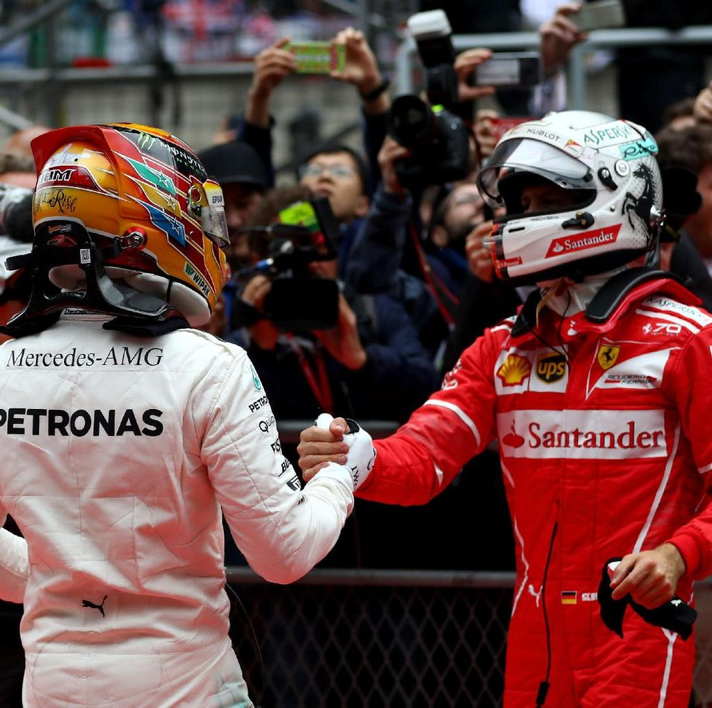 Hamilton Soal Persaingan dan Relasi Bagusnya dengan Vettel